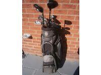 Golf Bag & Slazenger clubs