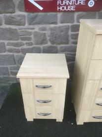 Bedside chest * free furniture delivery *