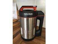 Morphy Richards Soupmaker with Serrator Blade 501013 Brushed Stainless Steel Soup Maker