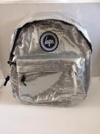 Hype Silver Backpack New