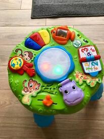 Baby toddler toy stand up (jungle theme)