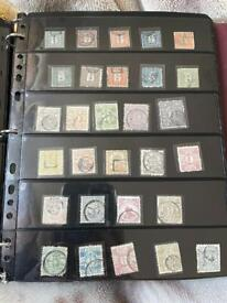 Classic rare Japan stamp collection