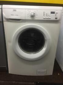 Zanussi white good looking 6kg 1200spin washing machine