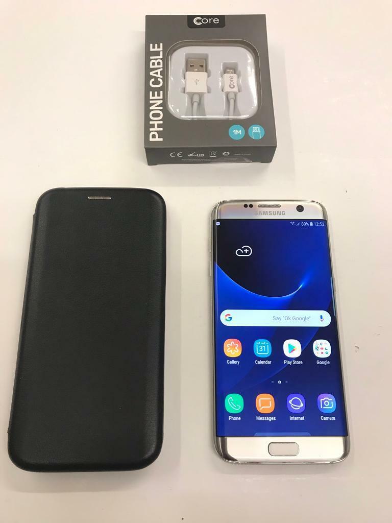 size 40 81053 ffe49 Samsung Galaxy S7 Edge Unlocked Gold with Case | in Peterborough,  Cambridgeshire | Gumtree