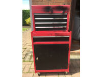 **DOUBLE TOOL CABINET, GOOD CONDITION - bargain, be quick!**