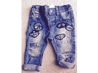 Brand new with tags next denim trousers