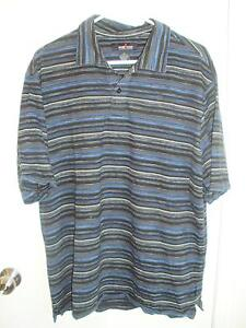 Men's Navy/Black Golf Shirt, Weir Golf, size L London Ontario image 1
