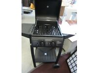 DOUBLE gas burner barbecue