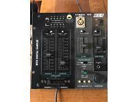 BST mixer with digital sampler