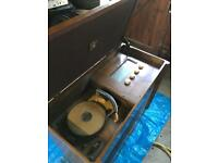 OFFERS!! vintage record player antique furniture