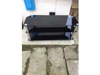 Piano Black TV Stand for sale - Fit's TV's upto 50""