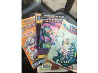 Beano and transformer comics