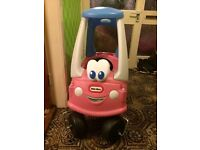 Little Tikes Cozy Coupe Pink Car in excellent condition