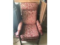 Fireside armchair immaculate condition