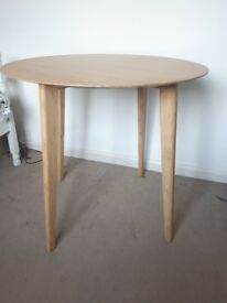 Ikea small bamboo table