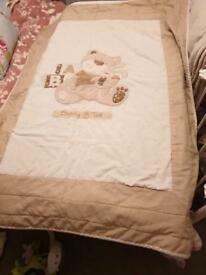 Unisex cot/nursery room set.