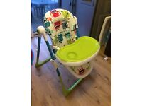 Cosatto supa monster highchair