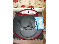 Vibrapower Disc Hardly used with remote control hand weights