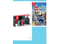 Nintendo switch brand new console with Lego city game
