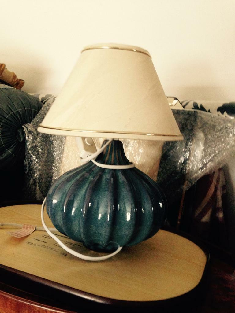 BEAUTIFUL SHAPED TABLE LAMP