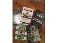 Set of 5 Celtic DVD's