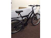 ... black adult mountain bike