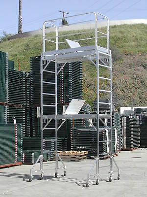 Aluminium span decks walkway Eiger decks 20ft instant staging board