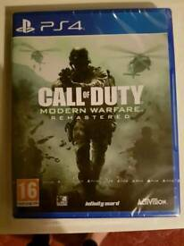 Call of duty remastered brand new sealed may swap