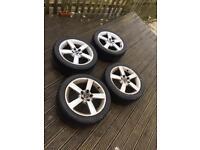 Saab vector alloys and good tyres