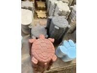 *New* Concrete / Stone Turtle / Tortoise Ornament/ Stepping Stone