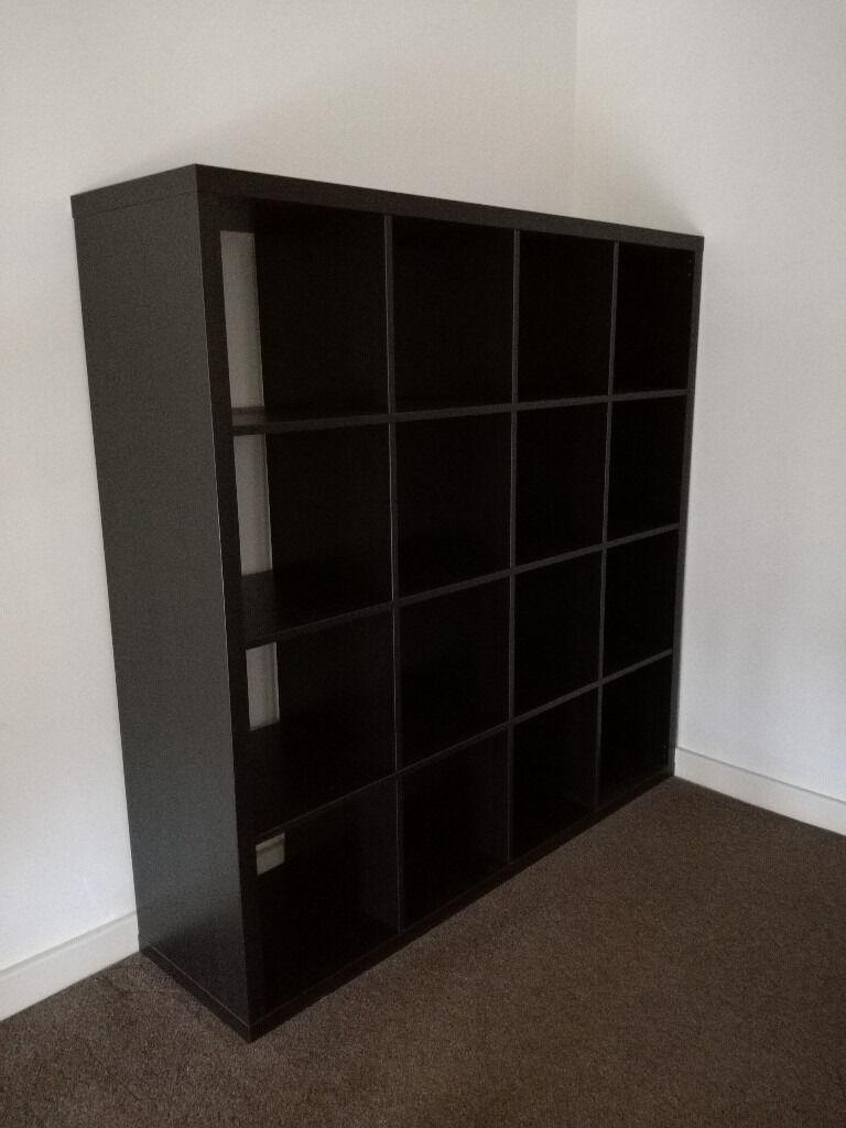 ikea kallax 4x4 shelving unit bookcase disassembled in gabalfa cardiff gumtree. Black Bedroom Furniture Sets. Home Design Ideas