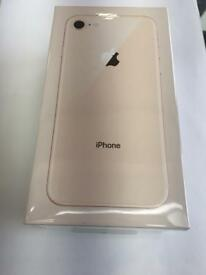 IPhone 8 64gb new sealed boxed with apple warranty