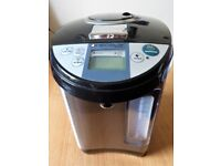 NEOSTAR ELECTRIC THERMOPOT WATER HEATER STAINLESS STEEL & BLACK PLASTIC 3.5 Litre Cap. Hardly Used