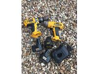 DEWALT drills power tools spare or repair