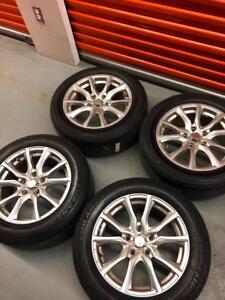 Mags pour Subaru 16X7J  bolt pattern 5-114,3