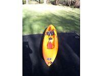 Sit on top sea kayak