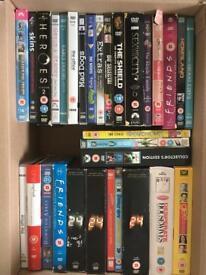 30 X DVD Box-Sets Mixed Genre Wholesale, Bulk, Bundle COLLECTION ONLY!