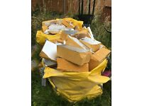 FREE CELOTEX INSULATION - 2 TONNE BAGS FULL & OFF CUTS - BRISTOL BS34