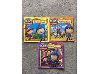 Set of three Mike the Knight story books