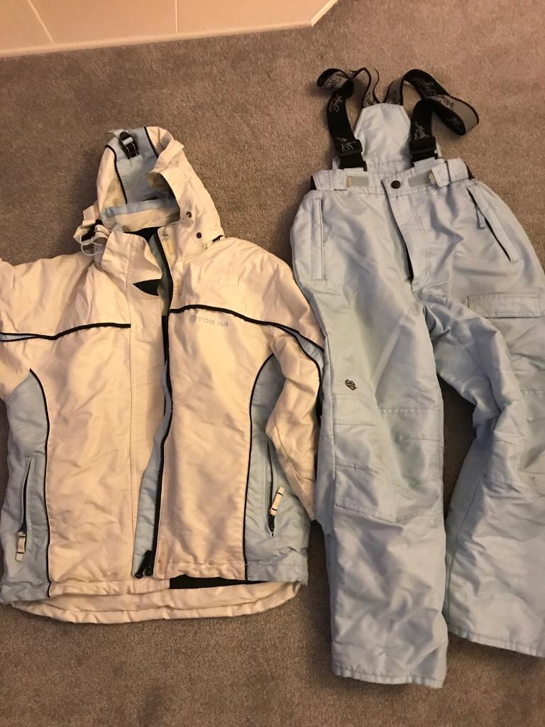 6ccf263bb Girls ski jacket and salopettes age 7/8 | in Southsea, Hampshire | Gumtree