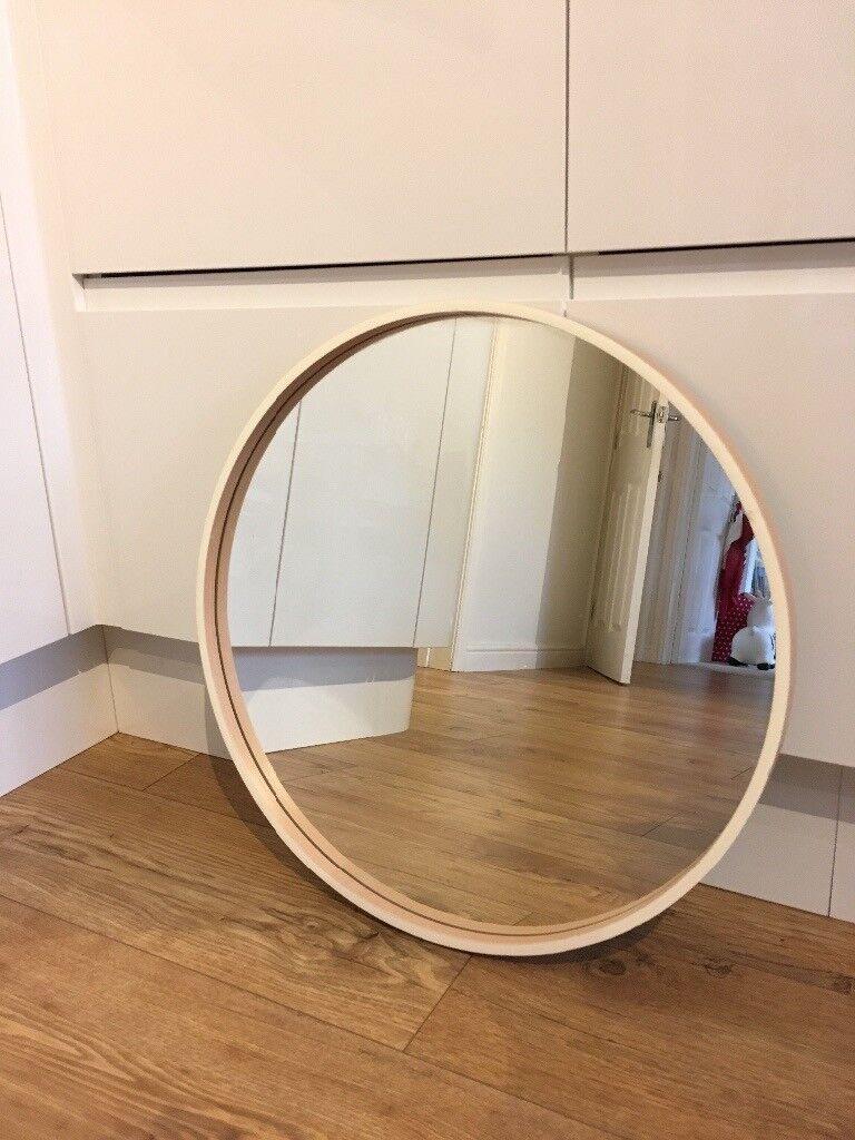 Ikea Round Skogsvag Mirror