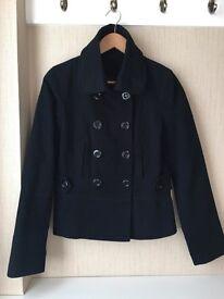 TOPSHOP Black Corduroy Jacket