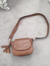 Dune tan handbag brand new hardly used