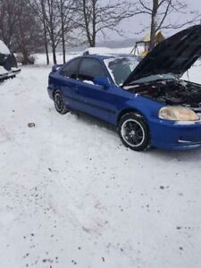 2000 Honda Civic Si $1500 As is BEST OFFER TAKES IT!