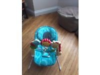 Fisher price 2 in sensory stages bouncer