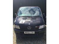 Mercedes Vito 2.2 Diesel Spares or Repair