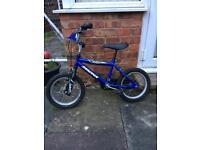 Boys 14inc bike