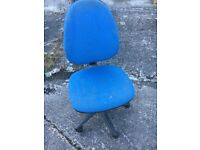 Blue Office Swivel Chair