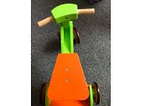Wooden trike bike