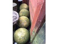 Garden sphere concrete ball